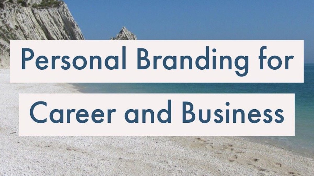 Personal Branding for Career and Business Blog Post Image
