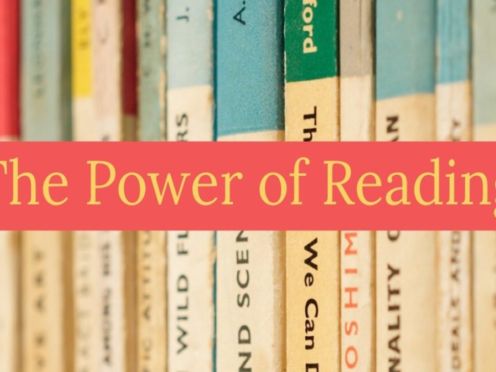 Power of Reading Blog Post Image